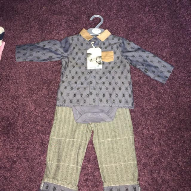 Find More Bows And Arrows Boots Mini Club Shirt And Trouser Set