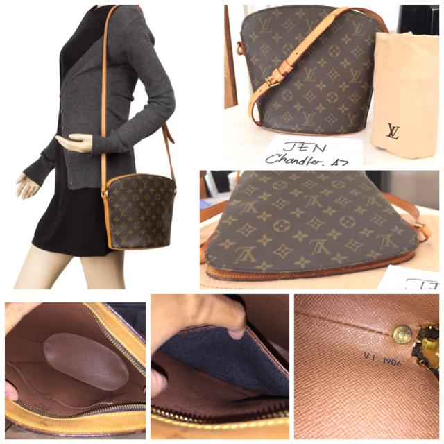 8b2ec64ec8bc Best Authentic Drouot Louis Vuitton Shoulder Bag Monogram for sale in  Gilbert