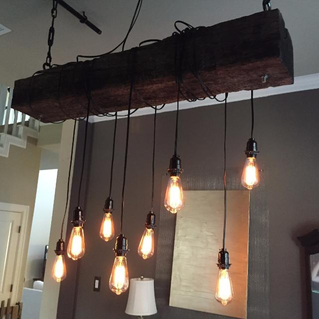 Rustic Chandelier Light Fixture