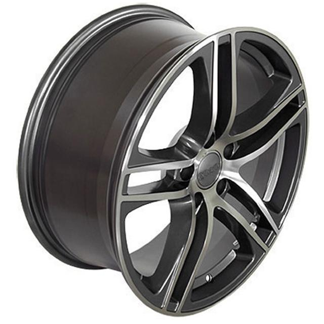 4 barely used Blizzak V0801 225/R18/95H snow tires with 5 star gun metal  grey rims gorgeous    Off a G37 Infinity Barely winter driven