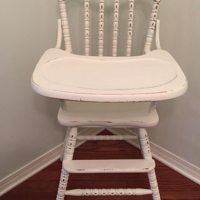 Find More Jenny Lind Wooden High Chair Painted And Distressed For
