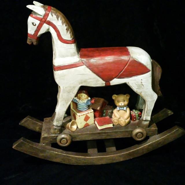 Get A 2 000 Second Christmas White Rocking Horse With Stock Footage At 29 97fps 4k And Hd Video Ready For Any Nle Immediately Choose From Wide