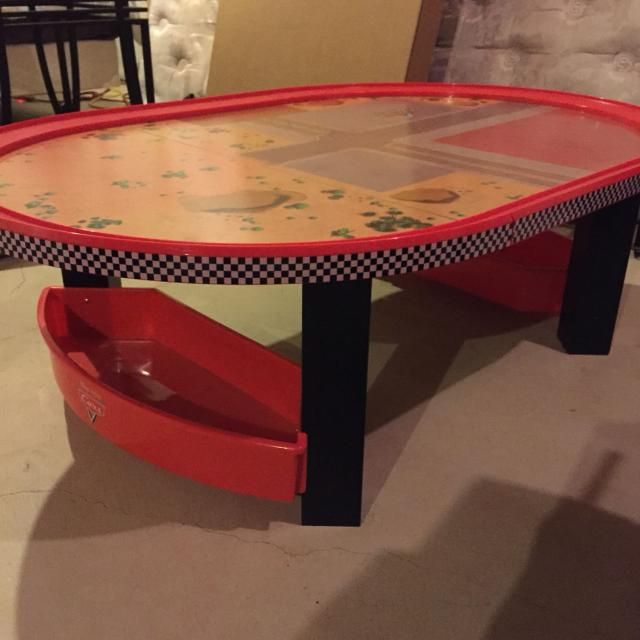 Disney Cars Radiator Springs Race Track Train Table Only Price