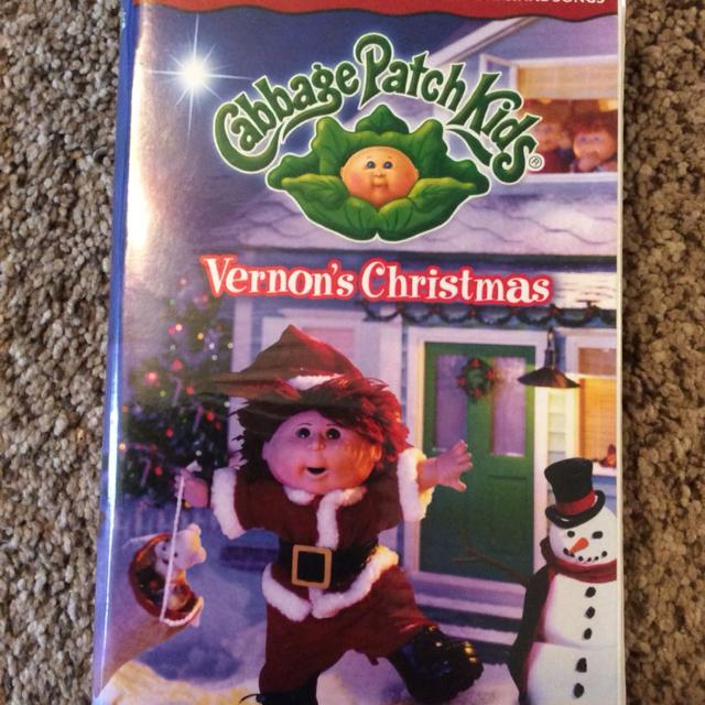 Find More Cabbage Patch Kids Vernon S Christmas Vhs For Sale At Up To