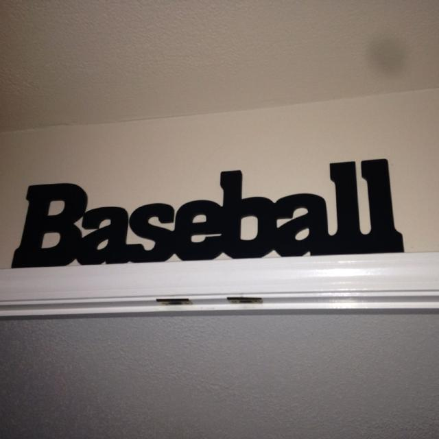 Baseball Sign For Boys Room Purchased At Hobby Lobby 500 More Stuff