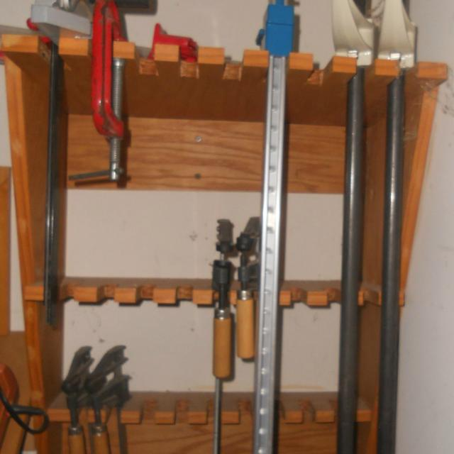 Find More Wall Mount Clamp Holder With Woodworking Clamps For Sale