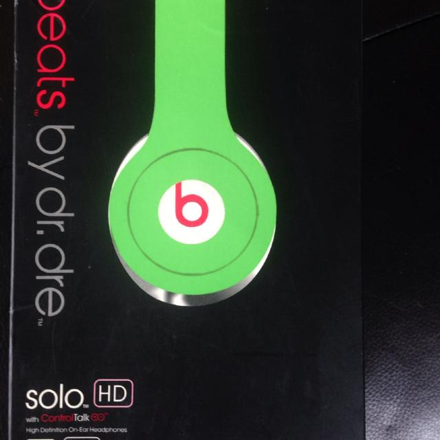 Find More Beats By Dr Dre Solo Hd New In Box For Sale At Up To 90 Off