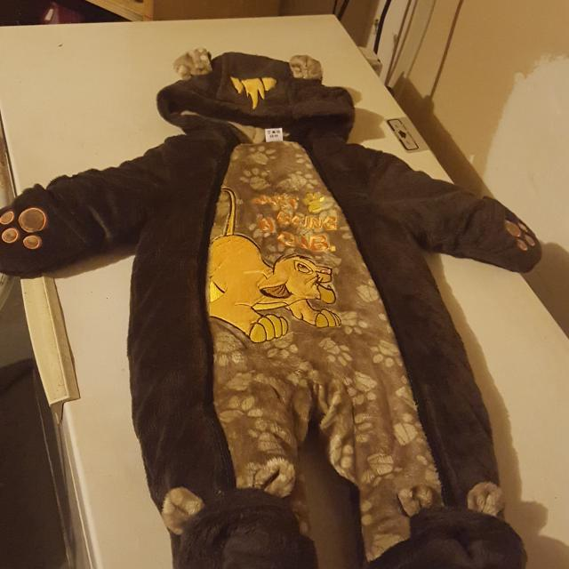 92445d3892d5 Find more Brand New Lion King Baby Snow Suit (disney) for sale at up ...
