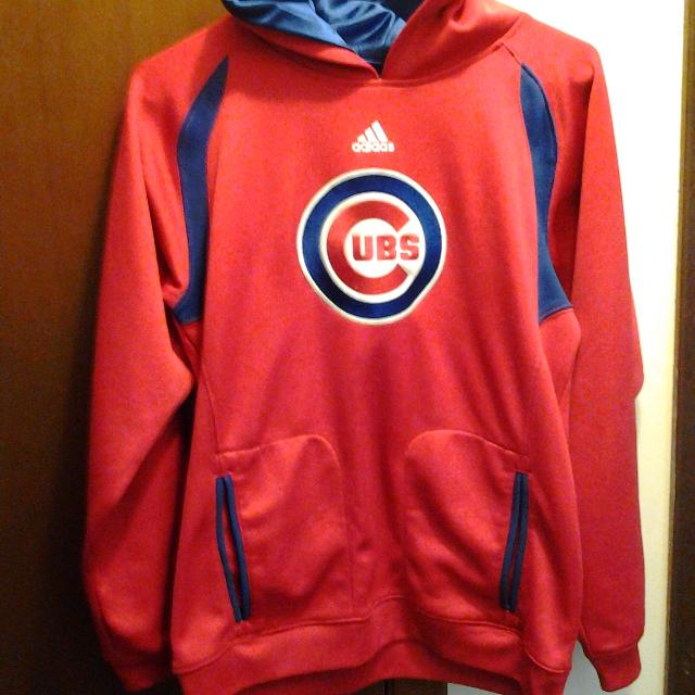 uk availability a4fc7 207ff Find more Boys Chicago Cubs Hoodie Size Large.14/16 Years ...