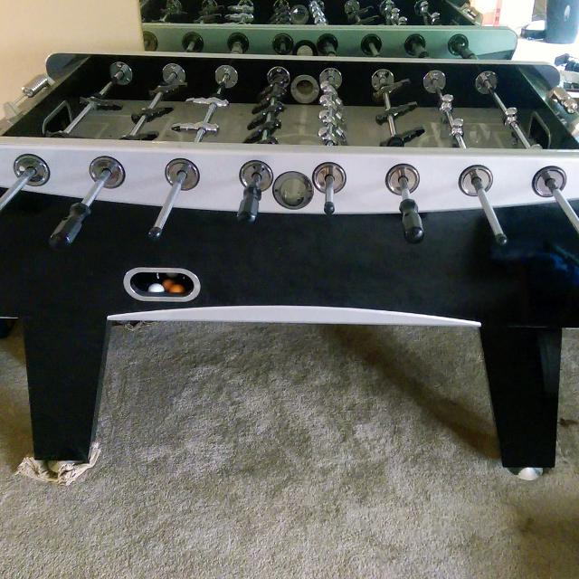 """Find More Sportcraft Pro Silver Cup 56"""" Foosball Soccer"""