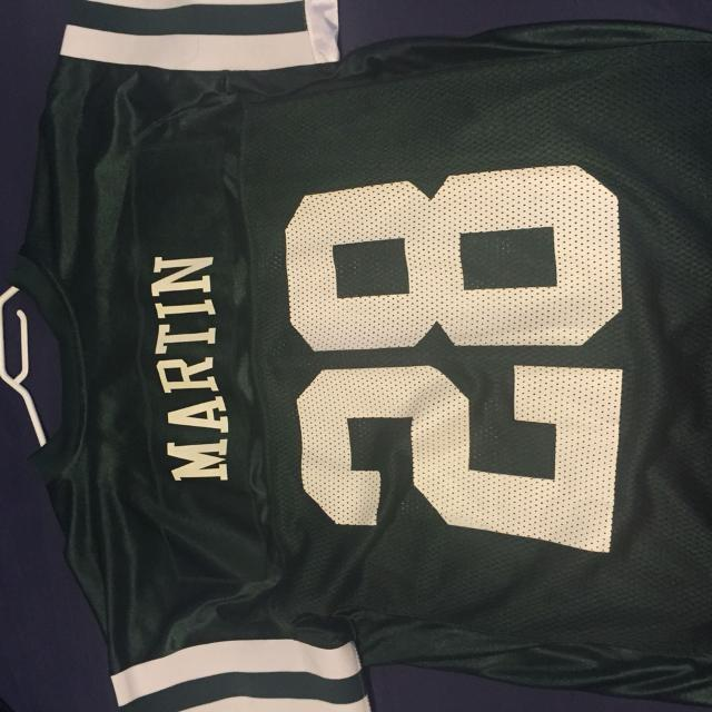 79f94b93 Men's size M New York Jets jersey. Curtis Martin. Number 28.