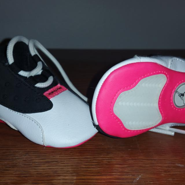 720db8ba572 Find more Baby Girl Soft Bottom Jordans. Sz 2c for sale at up to 90% off