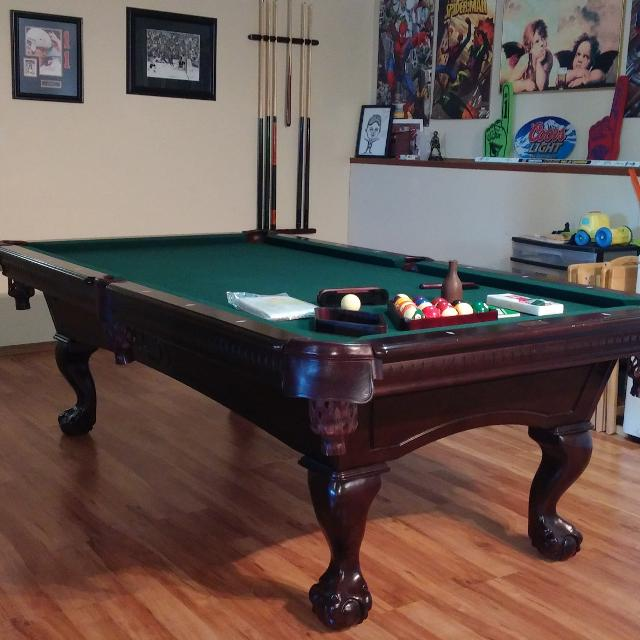 Find More X Fischer Pool Table Great Shape For Sale At Up To Off - Fischer pool table