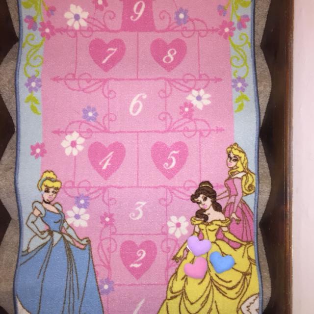 Disney Princess Hopscotch Rug