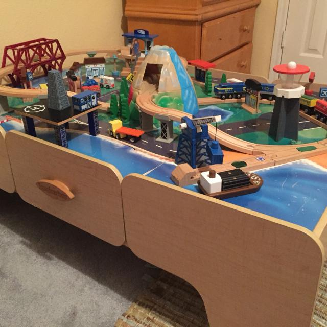 Imaginarium Toys R Us Brand Complete Train Table Set Your Child Can Have