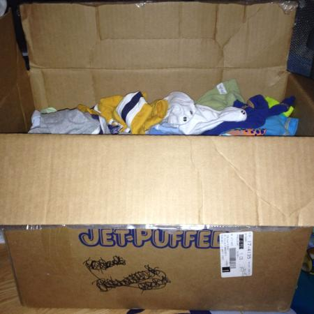 Med/large box of baby boy clothes!! ... for sale  Canada