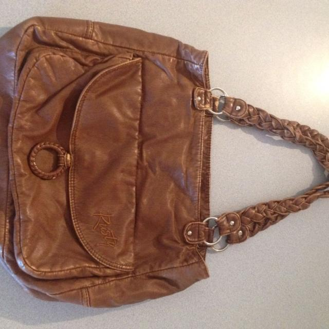 Large Rusty Handbag