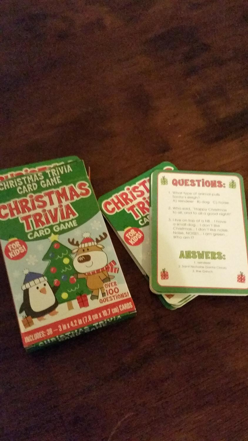 Find more Christmas Trivia Cards for sale at up to 90% off