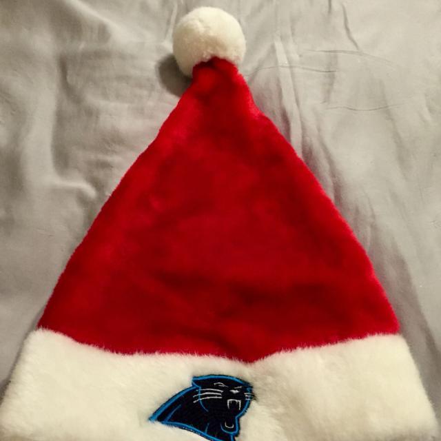 1974c3378 Find more Large Carolina Panther Adult Santa Hat Plush Velvet Brand ...