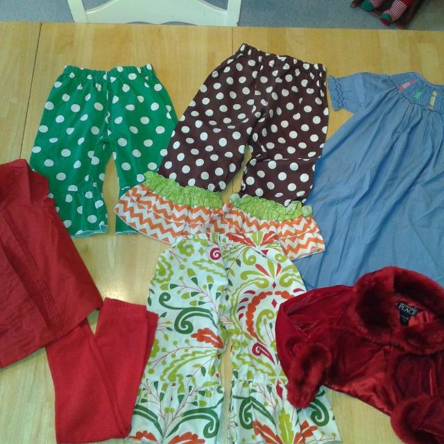 b8acd3ec30ca Find more 3t Lot, Girl's, Ruffle Pants, Shrug, Janie & Jack, Orient ...