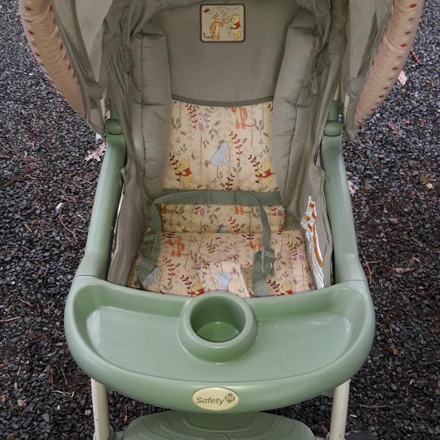Winnie The Pooh Stroller And Car Seat Combo Asking 3000