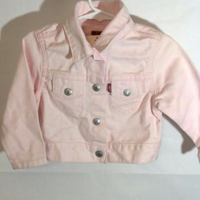 fa8a9520725d Best Levi s Light Pink Jean Jacket (nwt) For Little Girls Size 24 ...