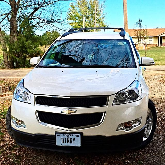 best 2012 chevy traverse pearl white for sale in le flore county oklahoma for 2019. Black Bedroom Furniture Sets. Home Design Ideas