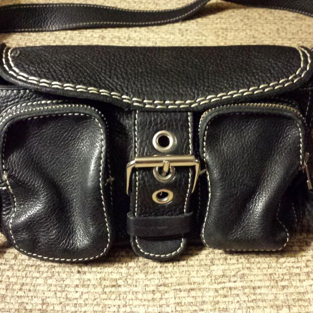 Roots Genuine Leather Purse Made In Canada Sppu