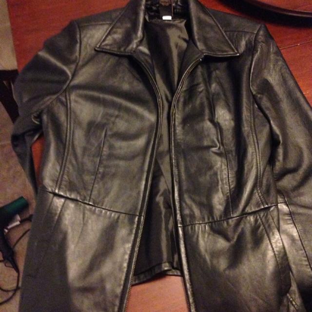 9cdd0691c Croft & barrow lambskin leather jacket