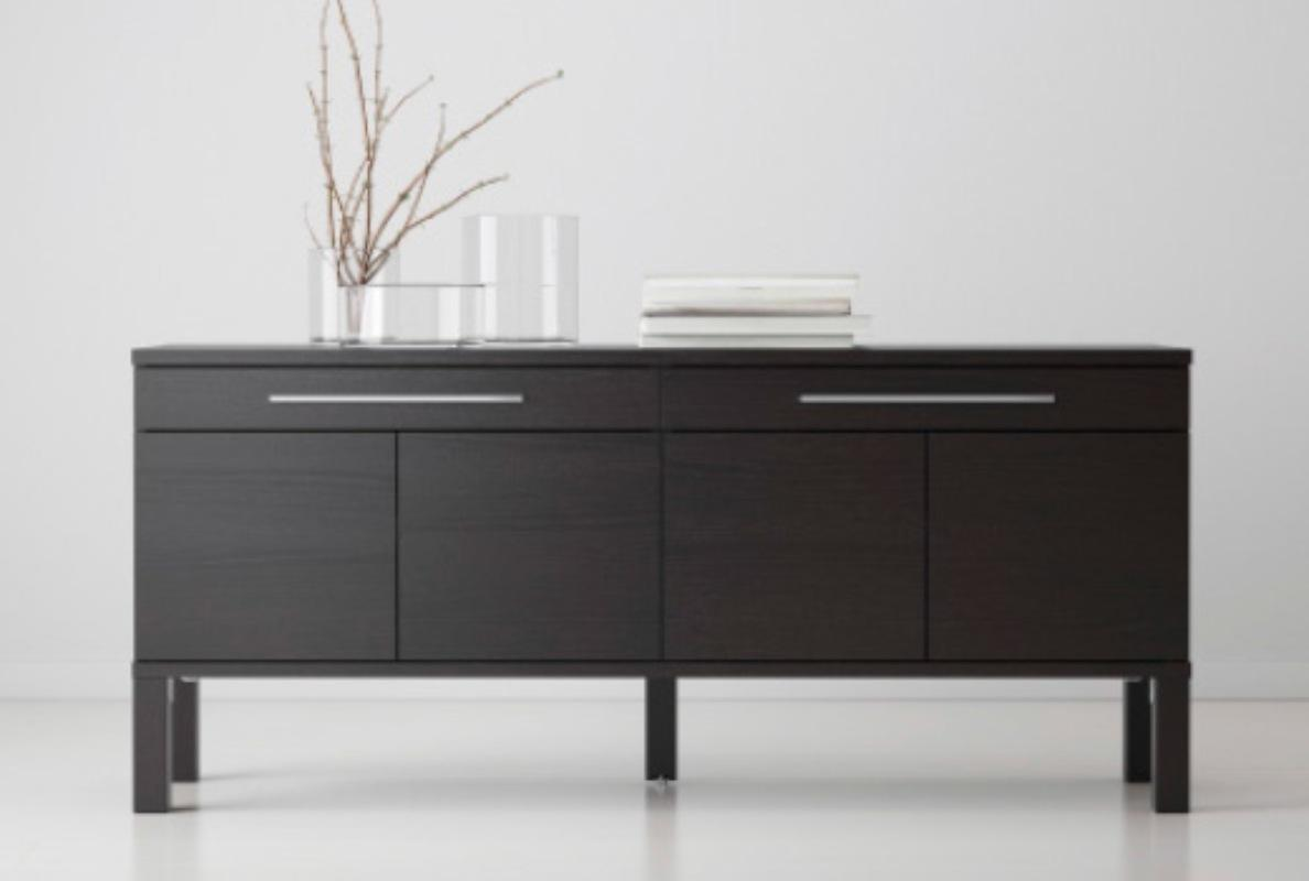 find more ikea bjursta sideboard cabinet for sale at up to 90 off. Black Bedroom Furniture Sets. Home Design Ideas