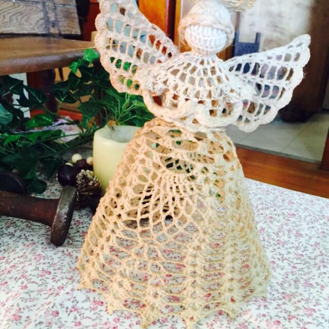 Find More Crocheted Angel Tree Topper For Sale At Up To 90 Off