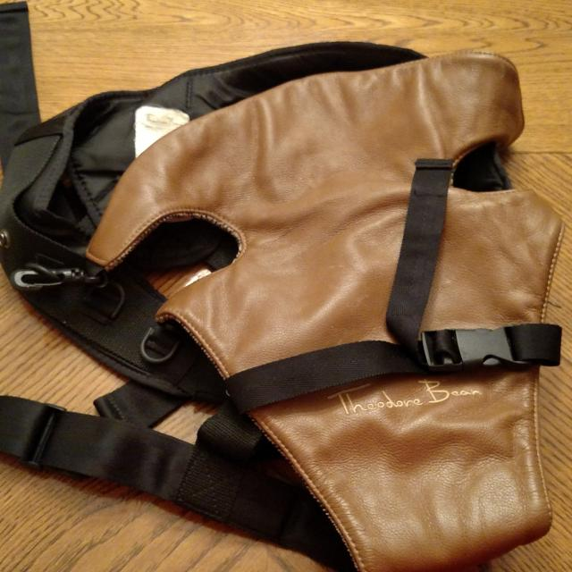 e794410bd3f Find more Theodore Bean Baby Carrier. Black With Brown. Smoke-free ...