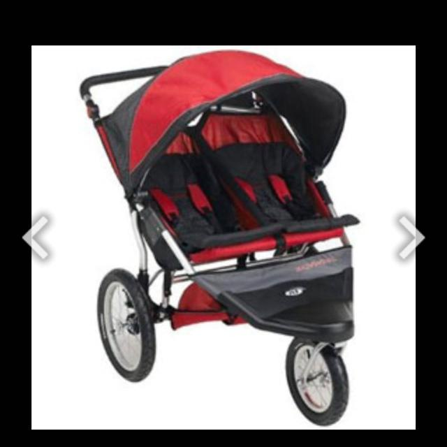 Schwinn Double Jogging Stroller Needs Two New Tubes In Back And One New Tire A Great Stroller