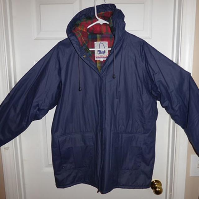 Find more Hooded Sailmaker Lined Rain Jacket for sale at up to 90 ...