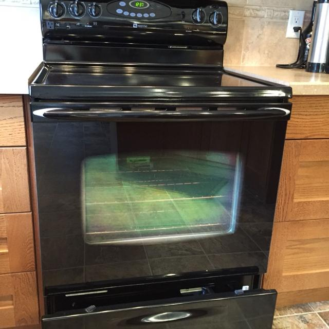 Maytag self cleaning oven