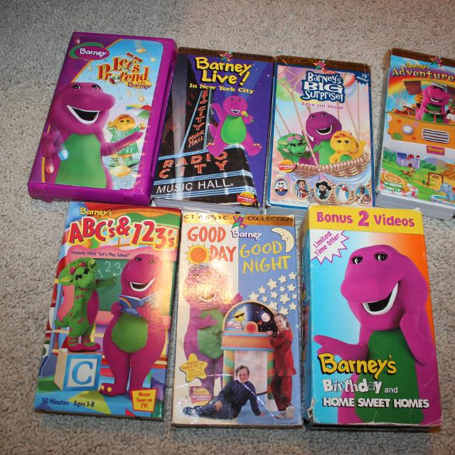 Find More Barney Vhs Tapes 1000 For Sale At Up To 90 Off