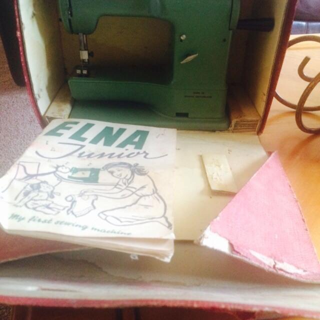 Best Vintage Elna Junior Sewing Machine For Sale Beauteous Elna Junior Sewing Machine