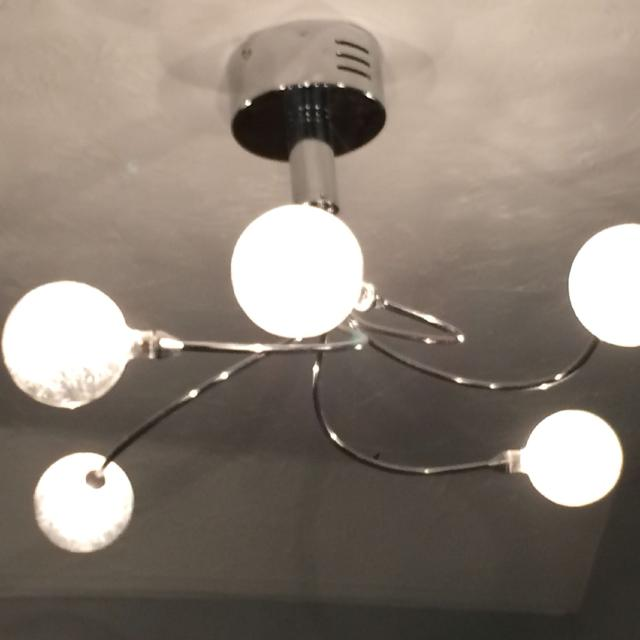 Find more Crackle Ball Ceiling Light From Homebase for sale at up ...