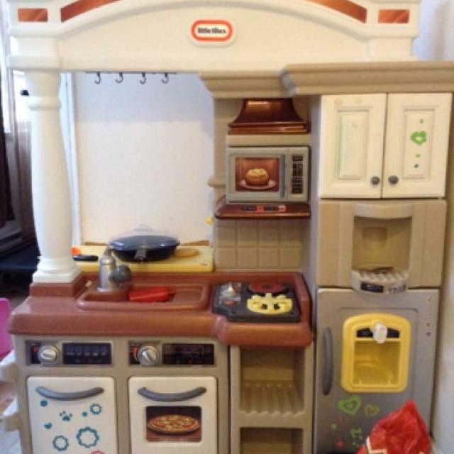 Find more Brand Name Little Tikes, Hardly Used Kitchen Set For Kids ...