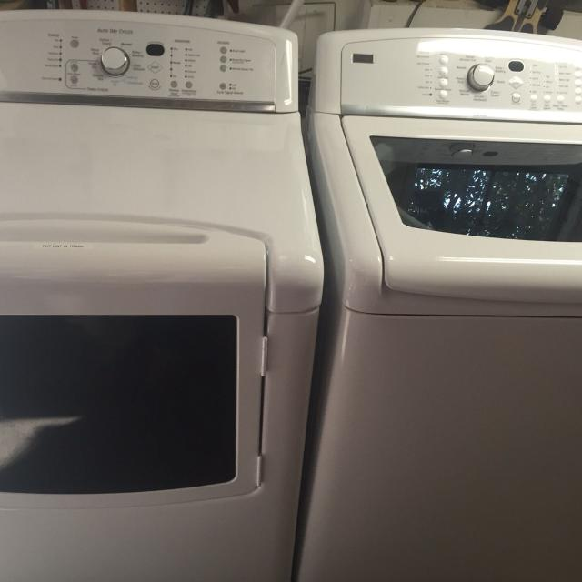 Kenmore Elite Oasis Washer And Dryer 250 Works Like New Frequently Shows