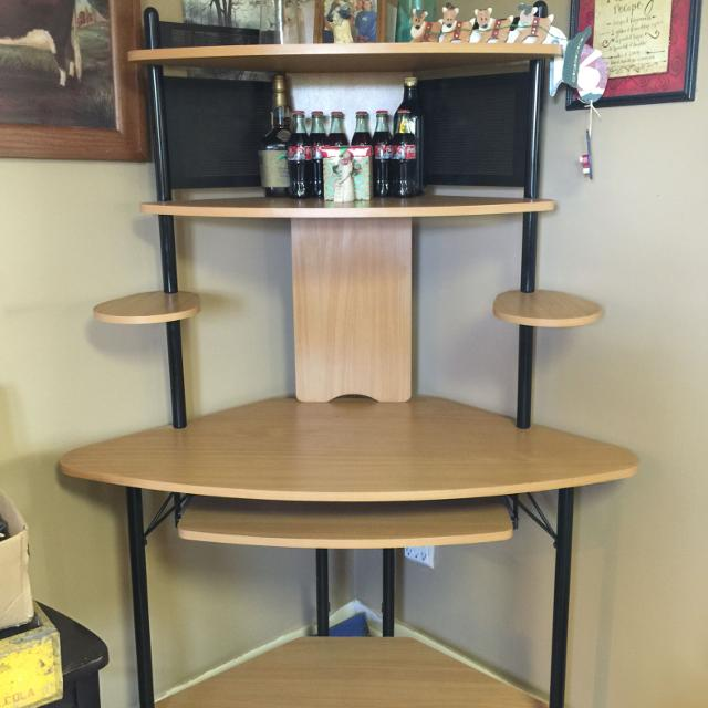 Corner Tower Computer Stand