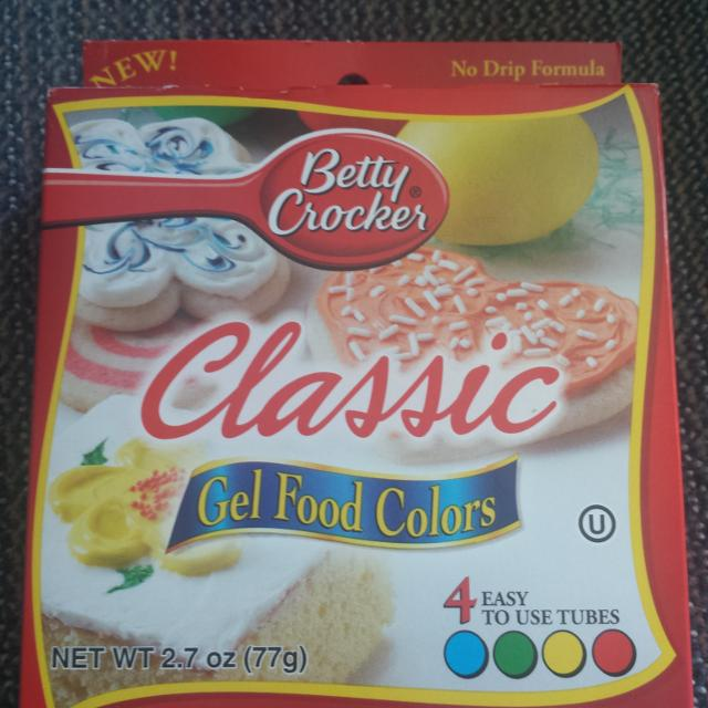 Betty Crocker Classic Food Colors ( can\'t find the expiration date )