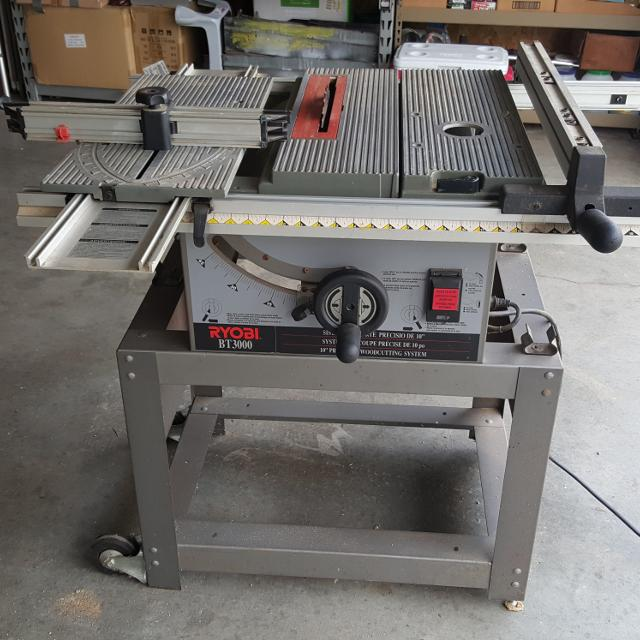 Find More Ryobi Bt3000 Table Saw For Sale At Up To 90 Off Champaign Il