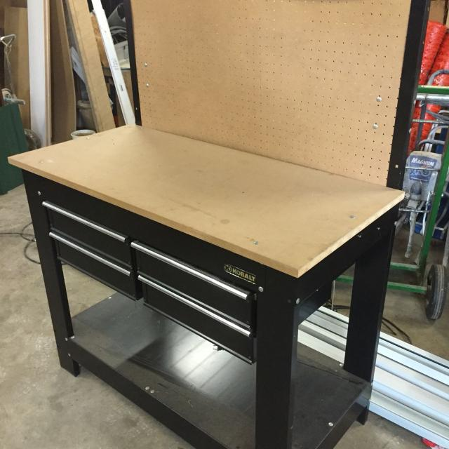 x light work with tool power shop workbench stool home parts kobalt depot strip australia drawer review bench steel ball bearing stainless in pdf