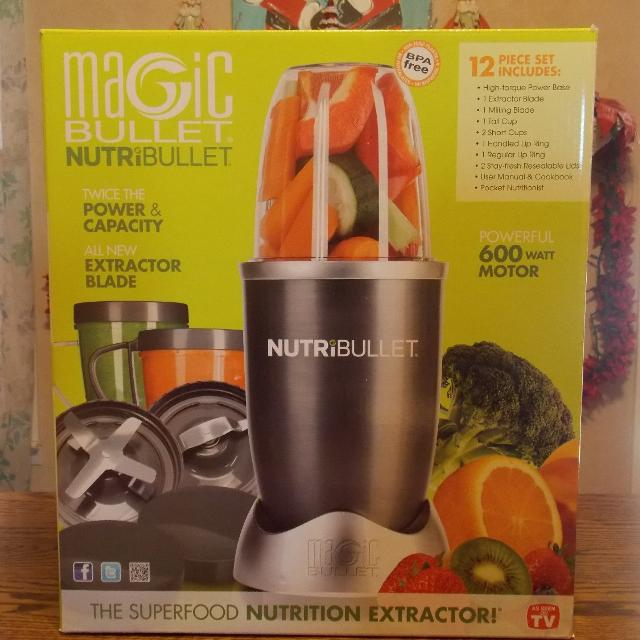 Find More Magic Bullet Nutribullet 12pc 600 Watt For Sale At Up To