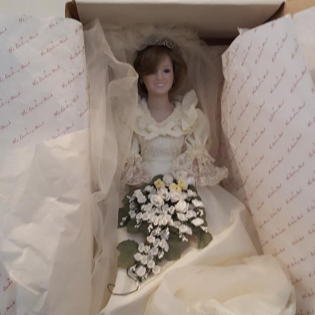 Princess Diana Doll Wedding Dress