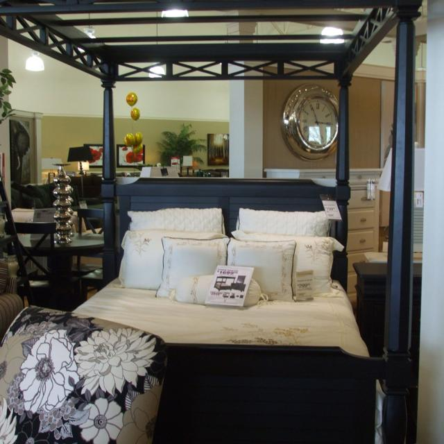 Find more Plantation Cove Queen Bed & Canopy! American Signature ...