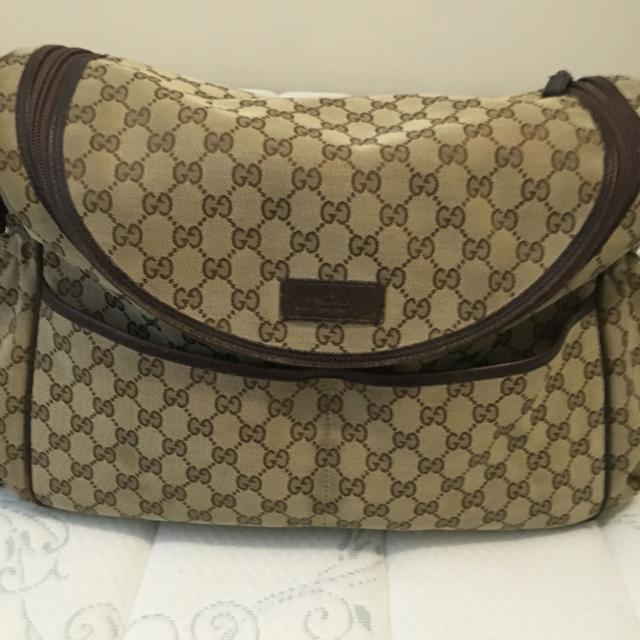a5750615b80b Best Authentic Gucci Diaper Bag, Could Be Used As A Overnight Bag/carry On.  for sale in Sudbury, Ontario for 2019