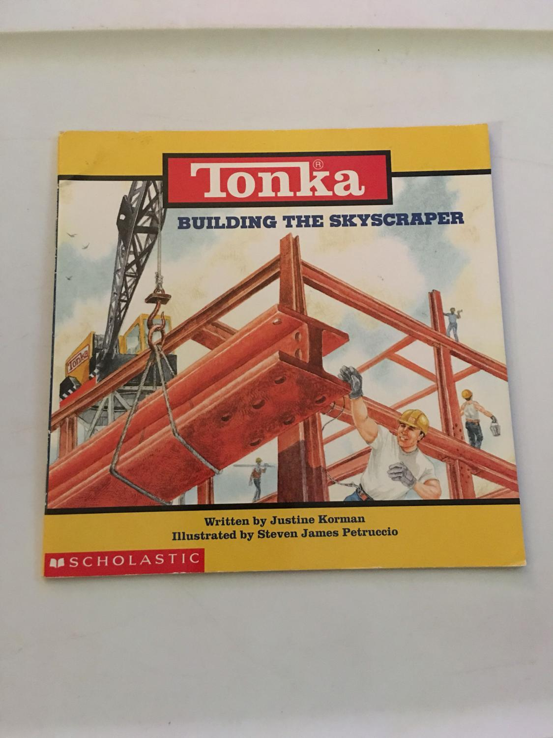 """Tonka! """"building The Skyscraper"""" Children's Book. Hc, Ppu, And Pm. Bundle  Discount Available. for sale at up to 90% off"""