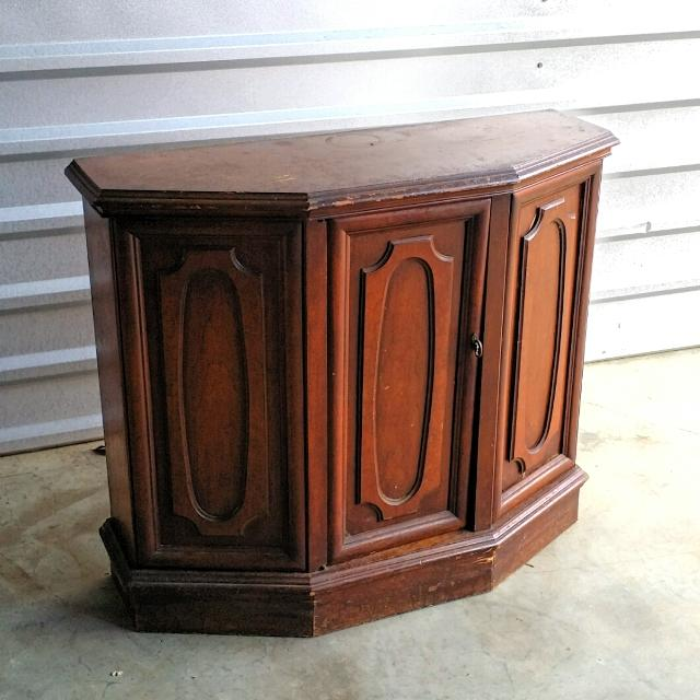 Vintage Mid Century Hall/Entryway Console Cabinet - Find More Vintage Mid Century Hall/entryway Console Cabinet For Sale